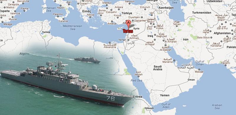 Ruska vojna baza u luci Tartus