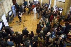 Atmosfera u Kamenoj sali Radio Beograda